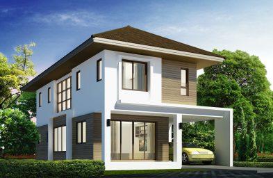 3D บ้านเดี่ยว 2 ชั้น TYPE-A
